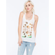 HURLEY Tropical Maze Womens Tank