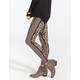 MOONSTRUCK Ethnic Print Womens Leggings