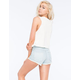 VANS Destroyed High Rise Womens Denim Shorts