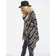 FULL TILT Stripe Fringe Womens Wrap