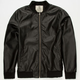 CHOR TNT Mens Faux Leather Jacket