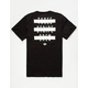 ADIDAS A With 3 Stripes Mens T-Shirt