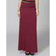 FULL TILT Fold Over Waist Maxi Skirt