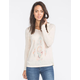 FULL TILT Symbol Feather Womens Hooded Thermal