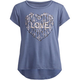 FULL TILT Arrow Heart Girls Hi Low Tee