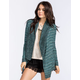 FULL TILT Womens Marled Stripe Cardigan