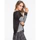 MIMI CHICA Color Block Womens Sweatshirt