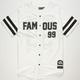 FAMOUS STARS & STRAPS Legends Mens Baseball Jersey
