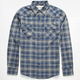 COASTAL Ocean Drive Mens Flannel Shirt