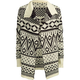 FULL TILT Fair Isle Girls Wrap Sweater