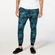 ELWOOD Blue Tropical Floral Mens Jogger Pants