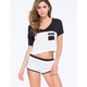 METAL MULISHA Disaster Womens Crop Pocket Tee