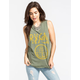 RVCA Anchor Womens Muscle Tank