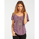 FULL TILT Ethnic Feather Symbol Womens Tee