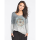 FULL TILT Arrow Dip Dye Womens Sweatshirt
