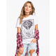 BILLABONG Vintage Anchor Womens Tee