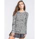 FULL TILT Cable Knit Womens Sweater