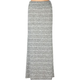 FULL TILT Fold Over Waist Womens Maxi Skirt