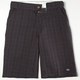 DICKIES Kickstart Plaid Mens Shorts