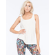 ONZIE Womens Knot Back Tank