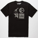 LRG Logo Mash Up Mens Tall Tee