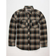 LOST Wright Mens Flannel Shirt
