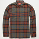 LOST The Plaid Mens Flannel Shirt