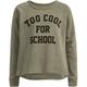 FULL TILT Too Cool For School Girls Sweatshirt