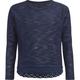 FULL TILT Crochet Trim Girls Sweater