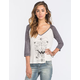 BILLABONG Where Gypsies Roam Womens Baseball Tee