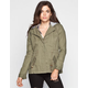 ASHLEY Womens Hooded Anorak Jacket