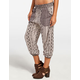 ANGIE Boho Stripe Womens Jogger Pants