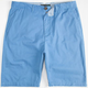 AKRUX Jack Mens Washed Chino Shorts