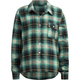 FULL TILT Step Hem Girls Flannel Shirt