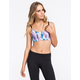 FULL TILT SPORT Snake Print Cage Back Sports Bra