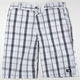 DICKIES Accelerate Plaid Mens Shorts
