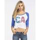 O'NEILL CA All American Womens Baseball Tee