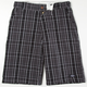 DICKIES Density Plaid Mens Shorts