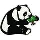 LRG Panda Sticker