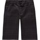 SUBCULTURE Wow Plaid Boys Shorts