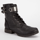 BRECKELLE'S Biker Womens Boots