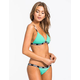 FOX Vapors Skinny Elastic Waistband Bikini Bottoms