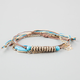 FULL TILT 3 Piece Elephant/Spear/Bead Bracelets
