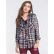 FULL TILT Womens Tunic Flannel Shirt