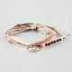 FULL TILT 3 Piece Bar/Feather/Eye Bracelets