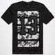 AYC Floral Mens Reflective T-Shirt