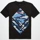 ASPHALT YACHT CLUB Blue Camo Diamond Mens T-Shirt