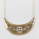 FULL TILT Crescent Bar Necklace