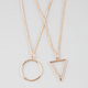 FULL TILT 2 Row Geo Necklace