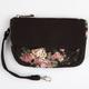 Floral Pocket Wristlet